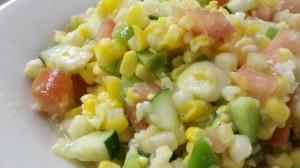 White Corn Salad